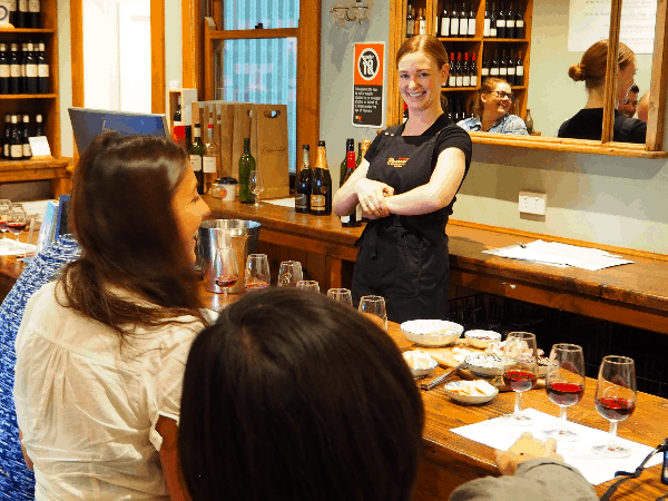 Pinot masterclass with resident oenophile Kate Turner of Centennial Vineyards - Taste of the Highlands gourmet food and wine tour from Sydney website