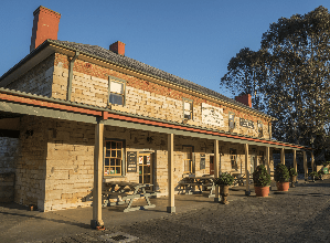 Recharge with a hearty lunch at Australia's oldest continuously licensed inn - Sip n Savour full day premium wine tour from Sydney