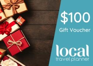 Local Travel Planner $100 Travel Gift Voucher