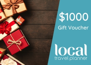 Local Travel Planner $1000 Gift Voucher