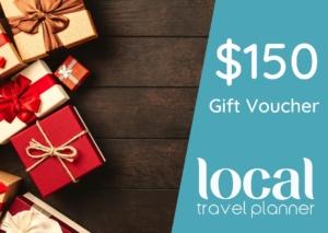 Local Travel Planner $150 Travel Gift Voucher