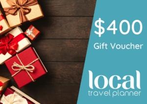 Local Travel Planner $400 Travel Gift Voucher