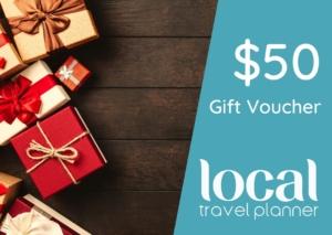 Local Travel Planner $50 Travel Gift Voucher